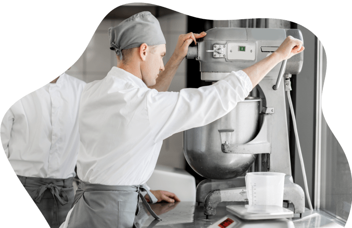 dough mixer by Seaforthgroup