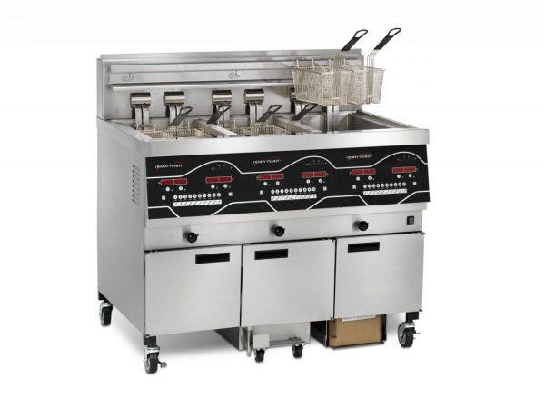 Henny Penny EEE-143 Electric 3-Well Evolution Elite® Open Fryer