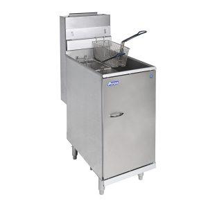Pitco Twin Basket Gas Fryer 19L