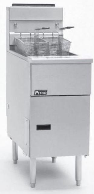 Pitco Twin Gas Fryer